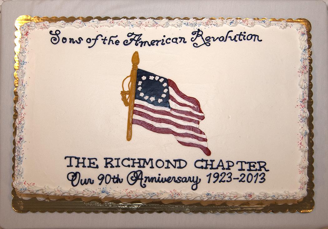 90th Anniversary Celebration Cake