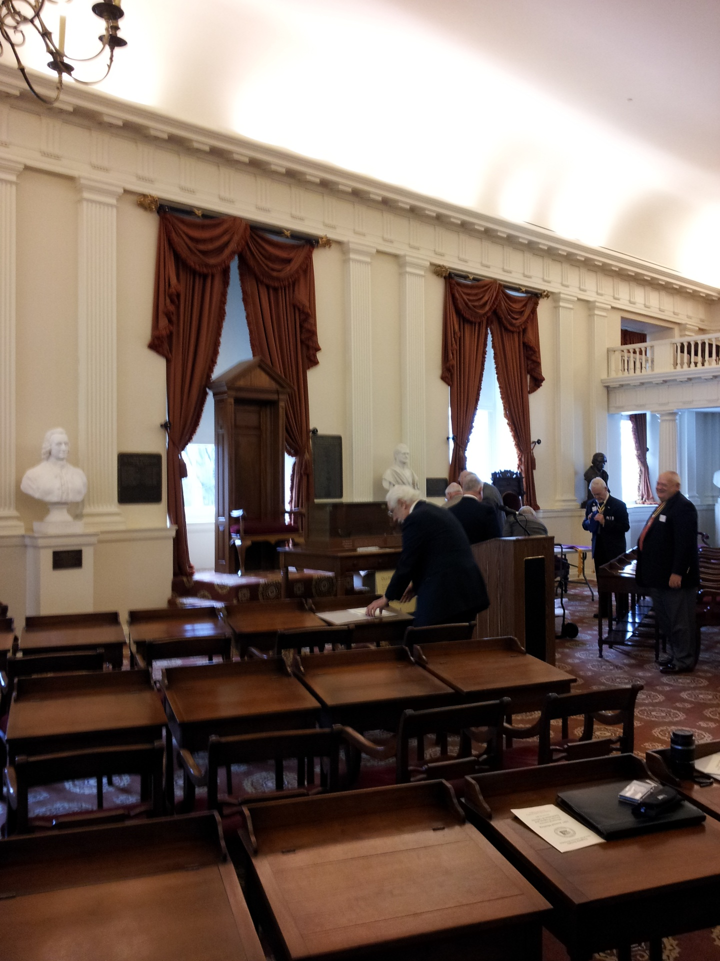Old House Chamber, VA Capitol Building